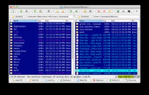 muCommander Orthodox File Manager